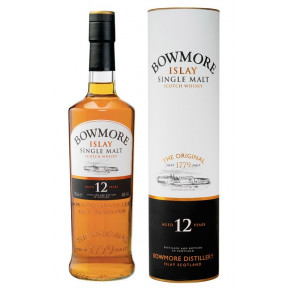 WHISKY 12 YEARS OLD BOWMORE - 70 cl.