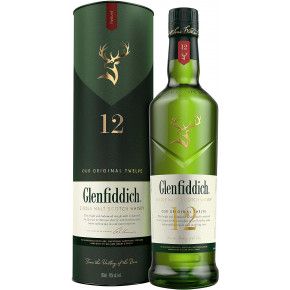 WHISKY 12 YEARS OLD GLENFIDDICH - 70 cl.