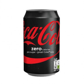 COCA-COLA ZERO - confez. 24 lattine da 33 cl.
